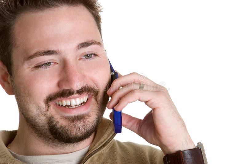 Homme au téléphone photos libres de droits