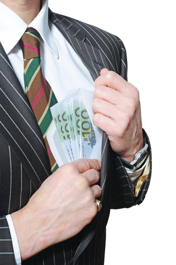 Homme avec l'argent comptant photos libres de droits
