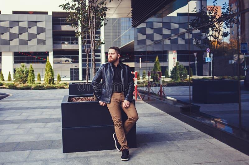 Homme avec la barbe photo libre de droits