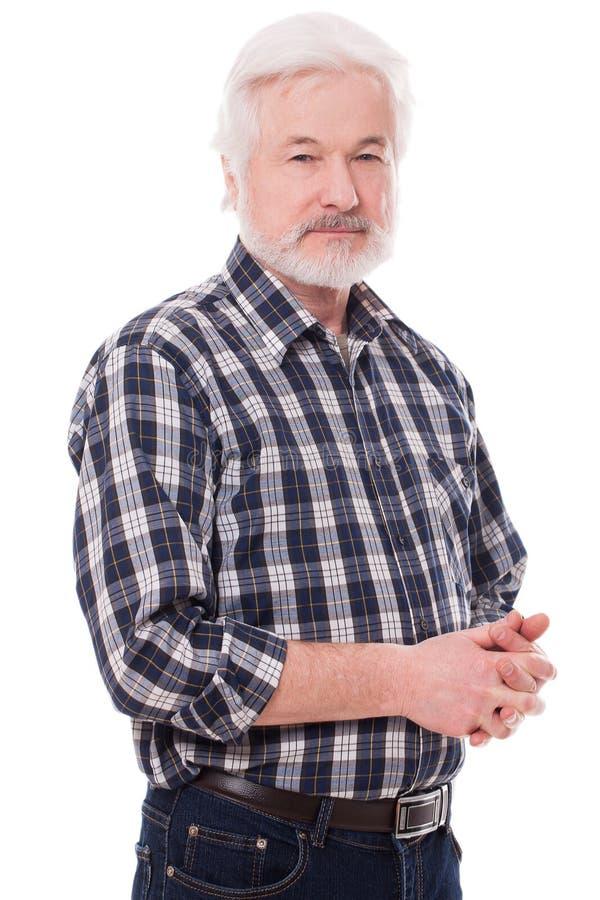 Homme beau et plus âgé image stock