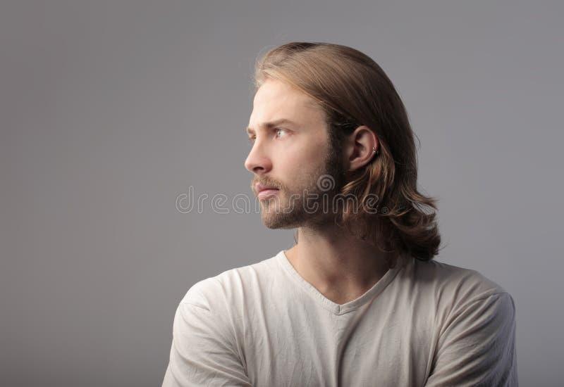 Homme bel photos libres de droits