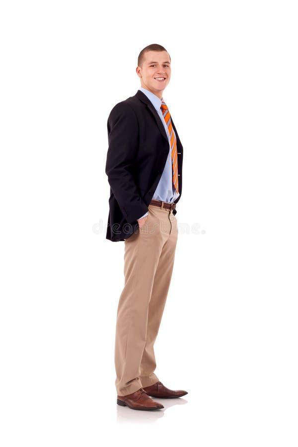 bb15427dc8d06 Vieil Homme Beau D'affaires Boutonnant Son Costume Image stock ...
