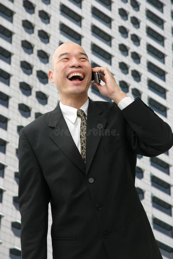 Homme chinois dans le procès photos libres de droits