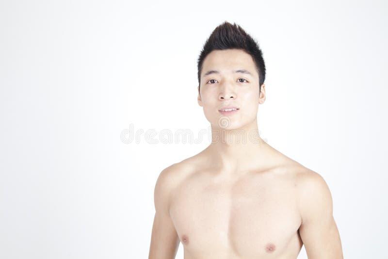 Homme chinois de sourire photo stock