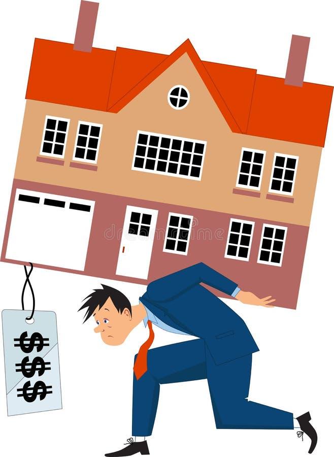 Hypothèque primordialement illustration libre de droits