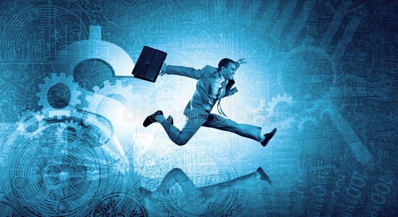 Download Homme D'affaires à Toute Vitesse Image stock - Image du moderne, carrière: 56480727