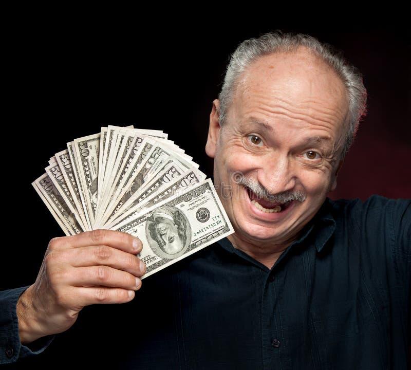 Homme d'affaires émotif photo stock