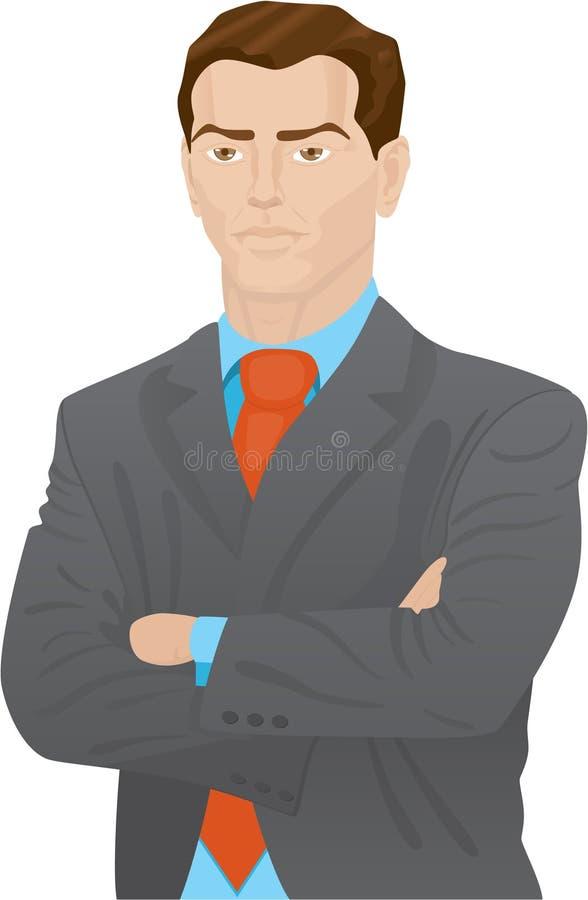 Homme d'affaires illustration de vecteur