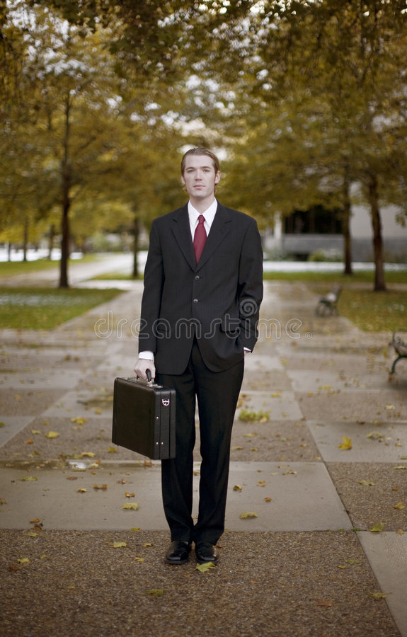 Homme d'affaires photo stock