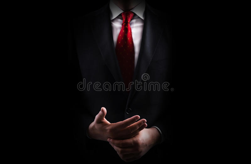 Homme d'affaires image stock