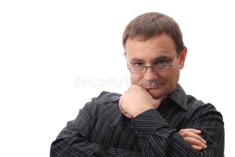 Homme d'affaires photographie stock