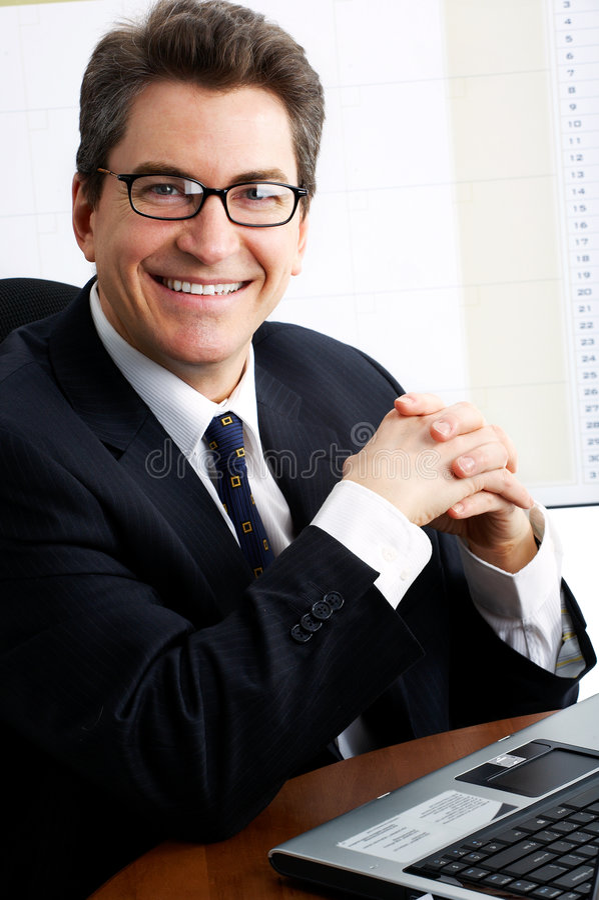 Homme d'affaires photos stock