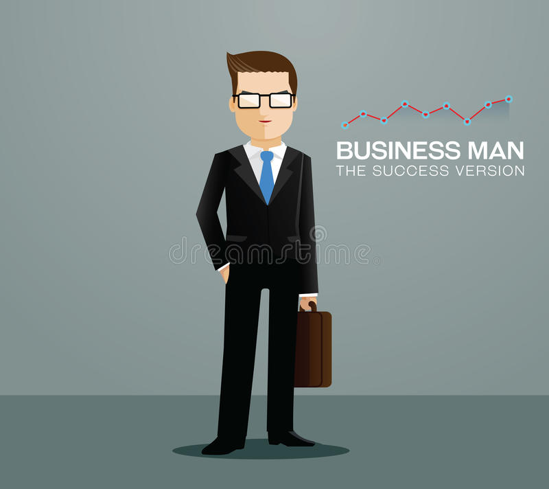 Homme d'affaires illustration stock