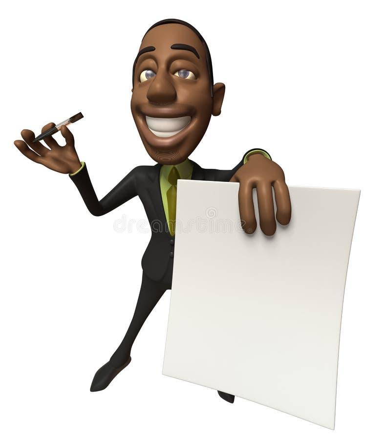 homme d'affaires illustration stock
