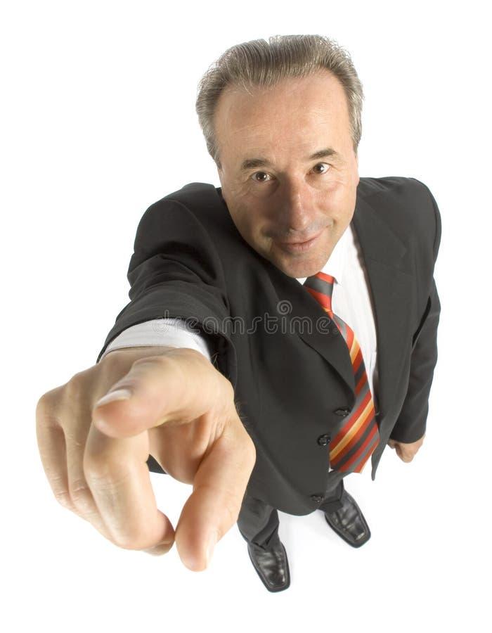 Homme d'affaires aîné photos stock