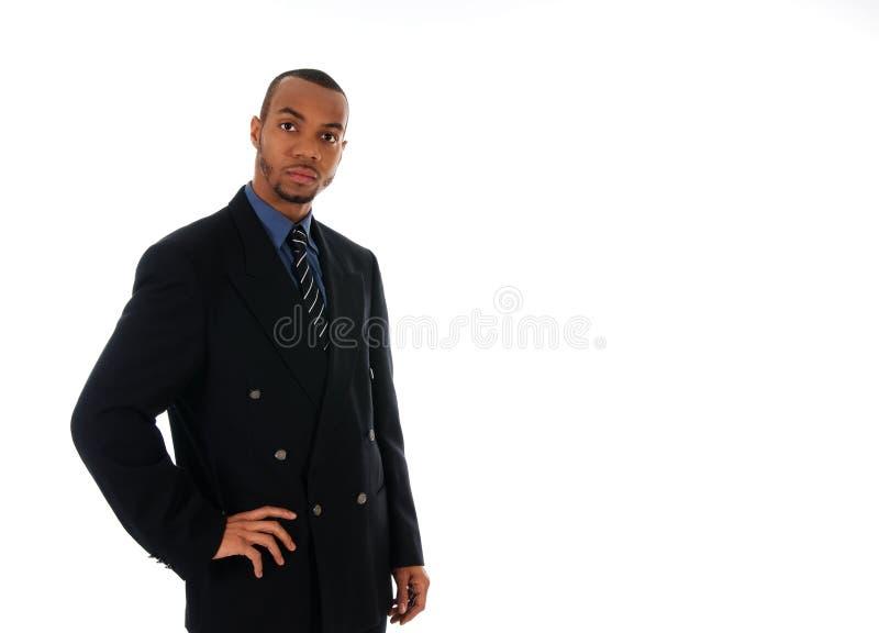 Homme d'affaires africain photographie stock libre de droits