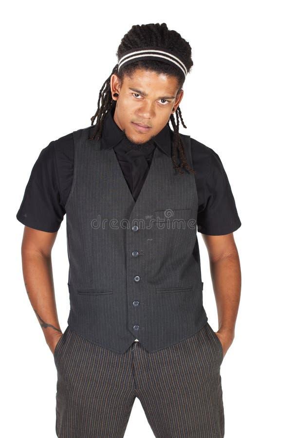 Download Homme D'affaires Africain Beau Photo stock - Image du mâle, brun: 8666572