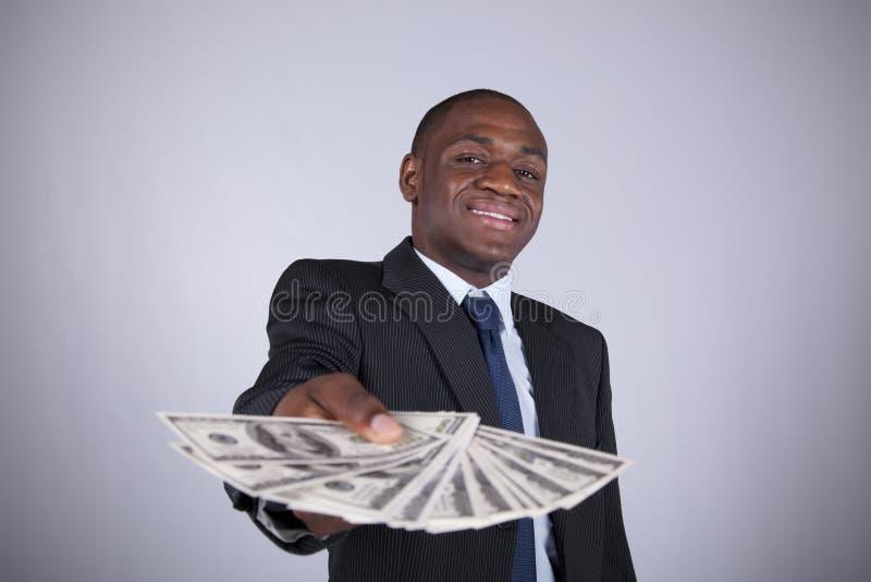 Homme d'affaires africain riche photo libre de droits
