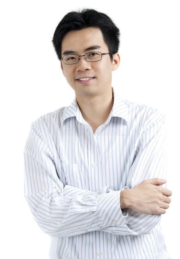 Homme d'affaires asiatique photographie stock libre de droits