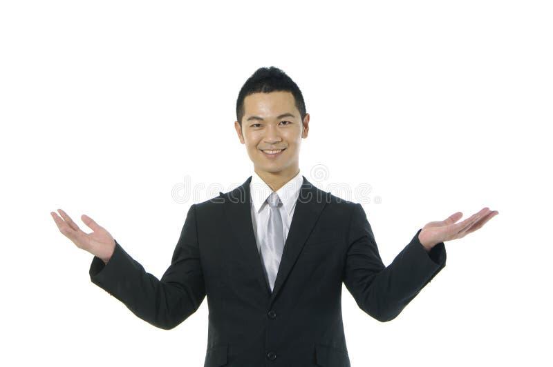 Homme d'affaires asiatique photos stock