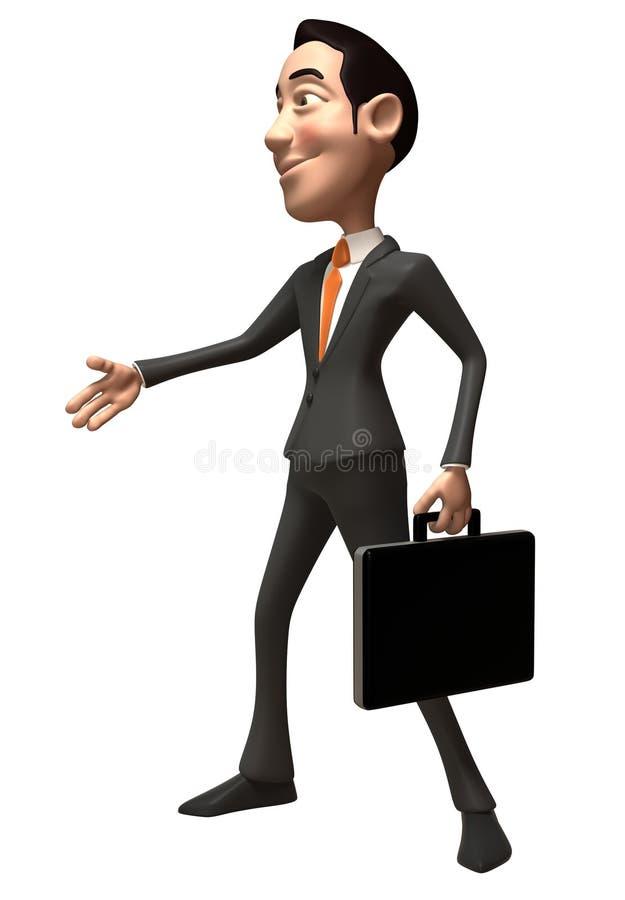 Homme d'affaires asiatique illustration libre de droits
