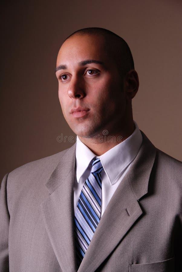 Homme d'affaires attirant. image stock