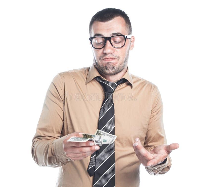 Homme d'affaires avec l'argent images libres de droits