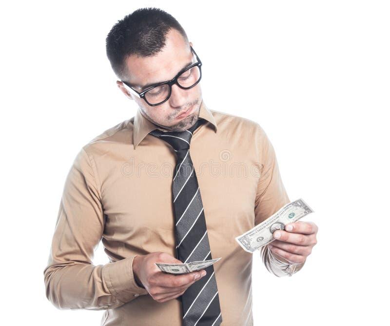 Homme d'affaires avec l'argent photos libres de droits
