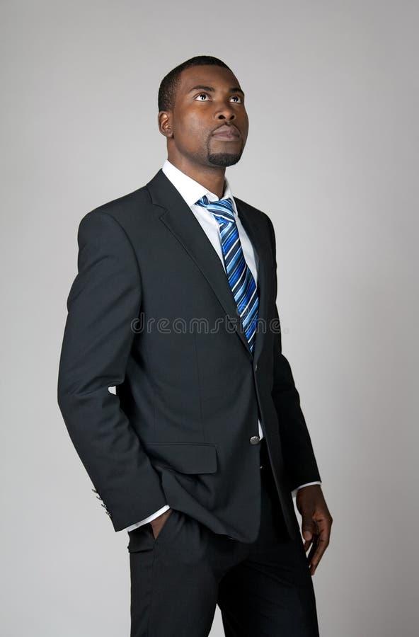 Homme d'affaires avec une visibilité images libres de droits