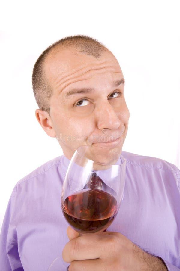 Download Homme d'affaires bu photo stock. Image du rouge, businessman - 8668576