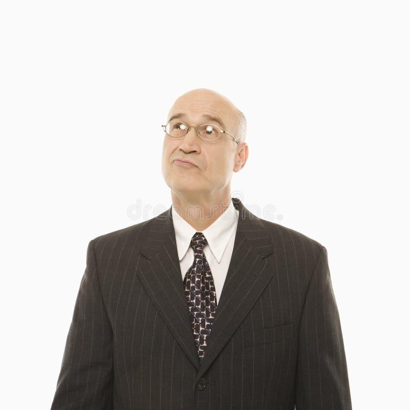Homme d'affaires caucasien image stock
