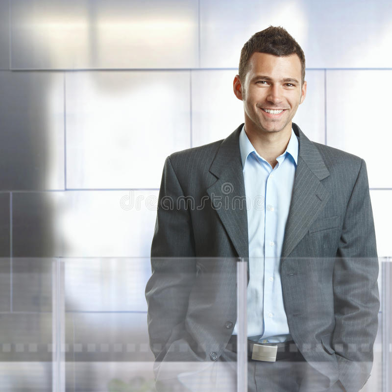 Homme d'affaires confiant photos stock
