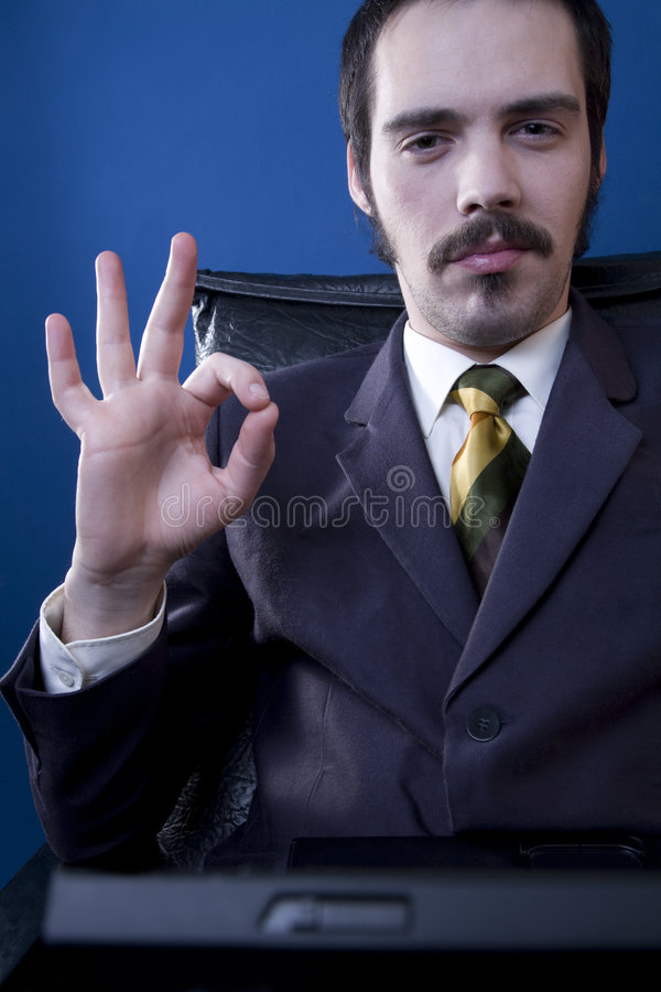 Homme d'affaires confiant images stock