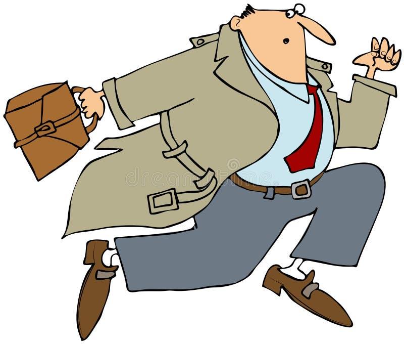 Homme D Affaires Courant Photos stock