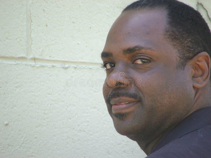Homme d'affaires d'Afro-américain photo stock