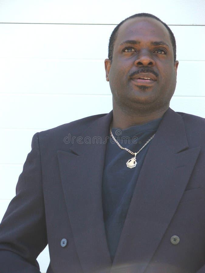 Homme d'affaires d'Afro-américain images stock