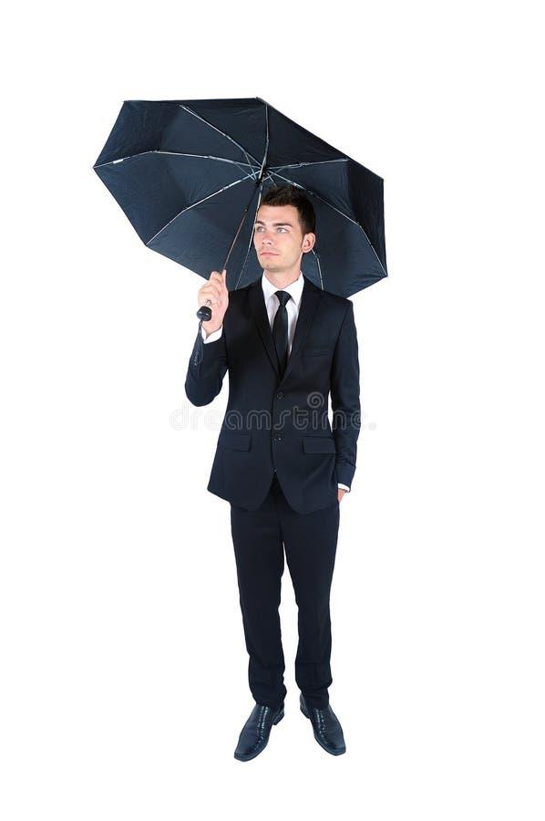 Homme d'affaires d'isolement image stock