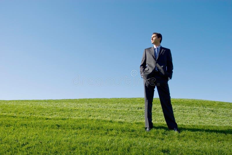 Homme d'affaires dans le procès photo libre de droits
