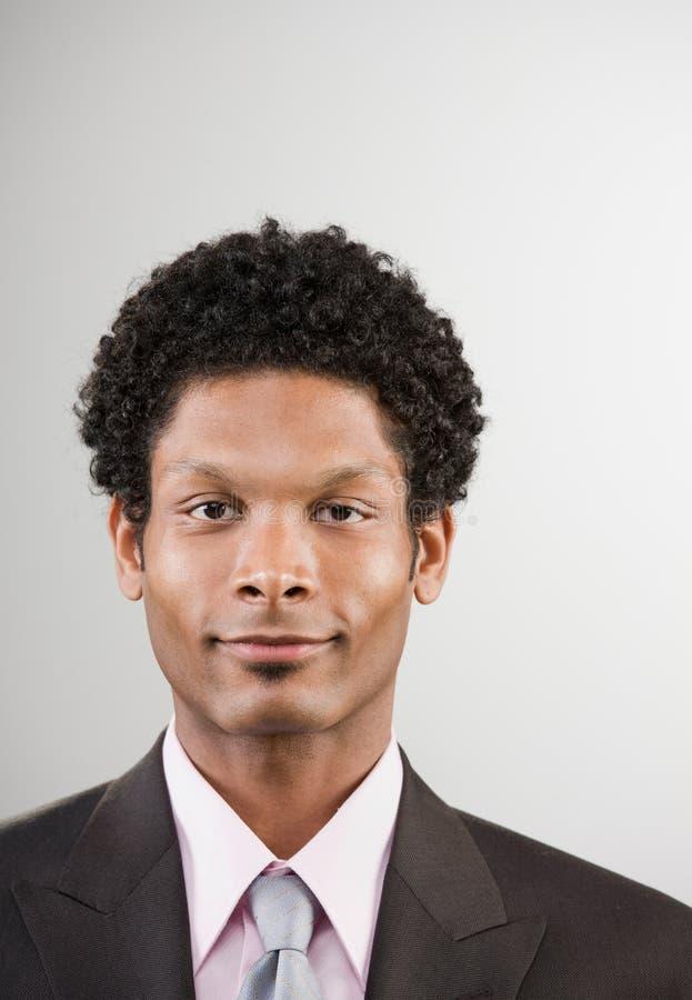 Homme d'affaires dans le procès images stock