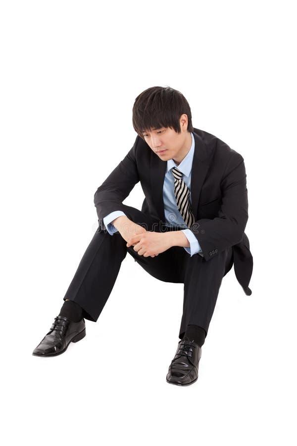 Homme d'affaires de défaillir photo stock