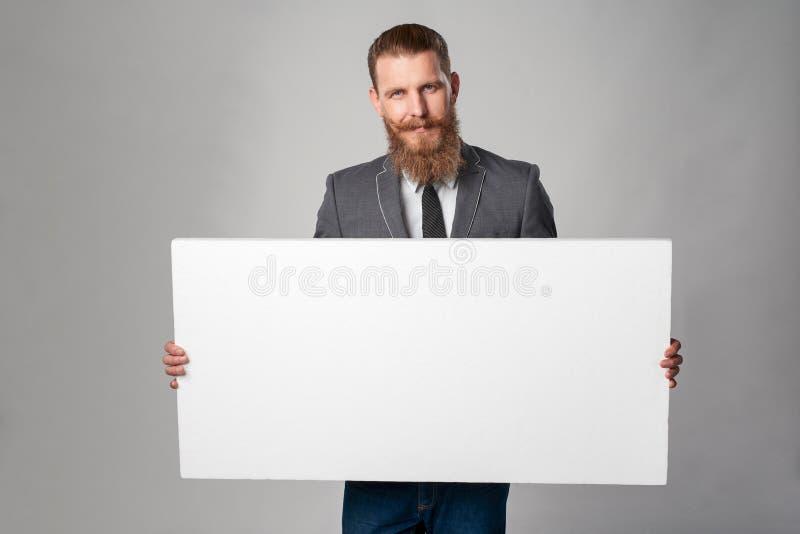Homme d'affaires de hippie image stock
