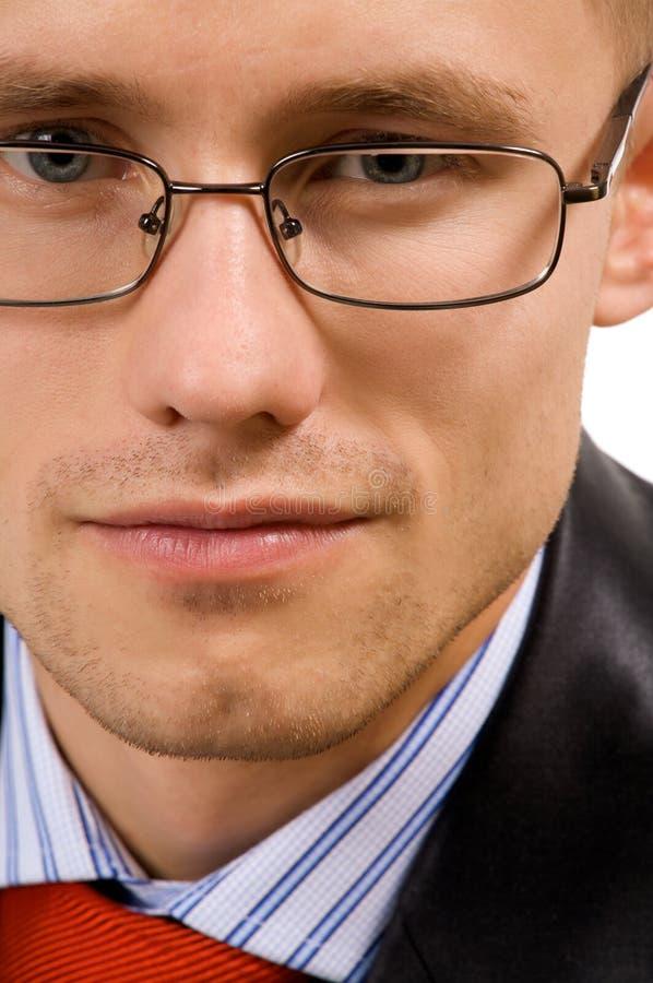 Homme d'affaires de jeunes de verticale image stock