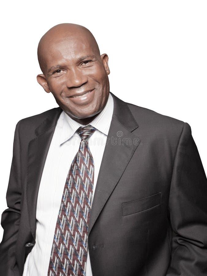Homme d'affaires de sourire photo stock