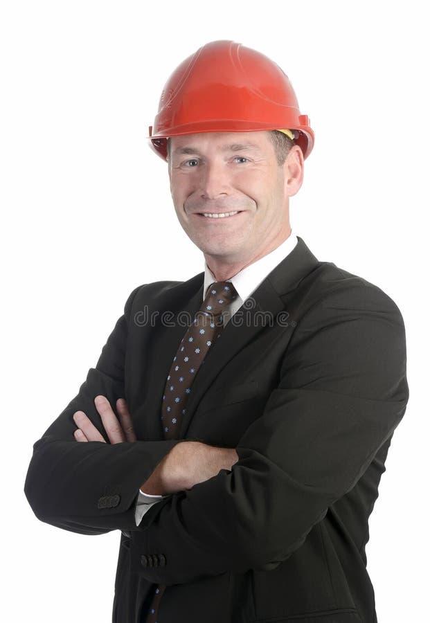 Homme d'affaires de sourire photo libre de droits