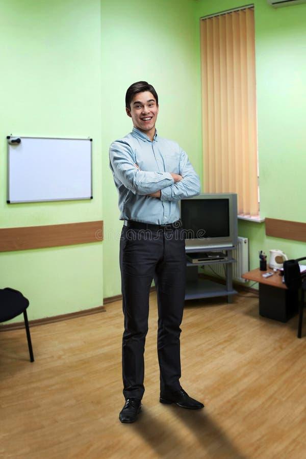 Homme d'affaires de sourire image libre de droits