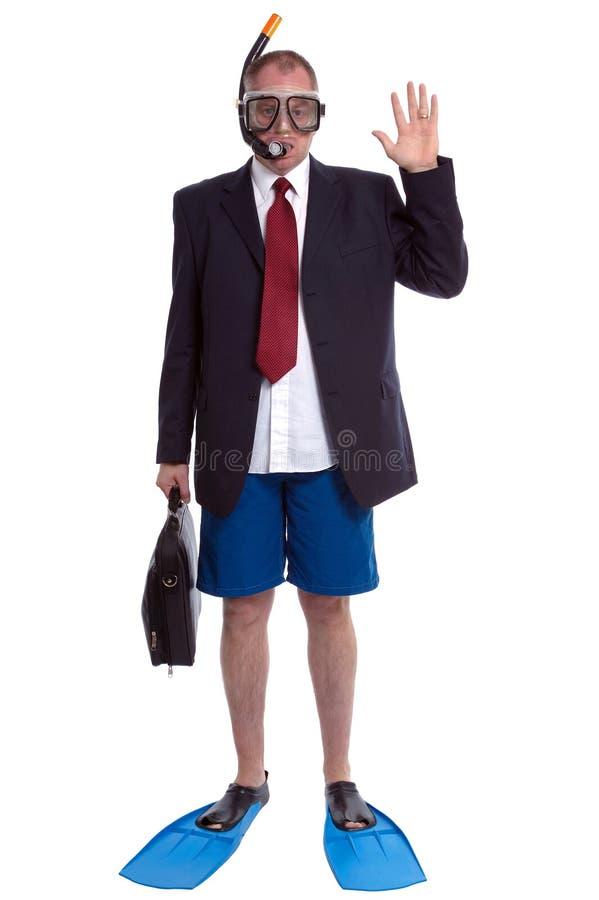 Homme d'affaires des vacances photos libres de droits