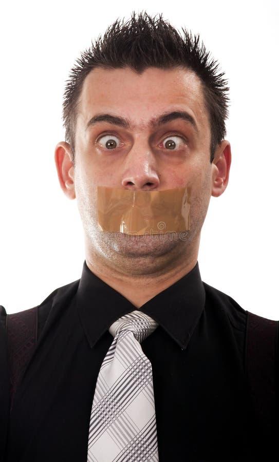 Homme d'affaires drôle photos stock