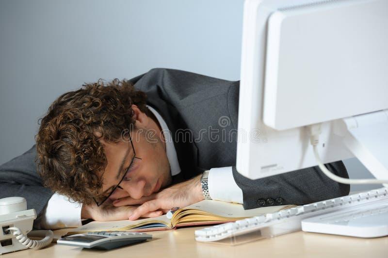 Homme d'affaires ennuyé photo stock