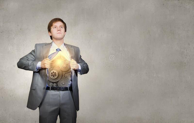 Download Homme d'affaires et idée image stock. Image du trains - 56480685