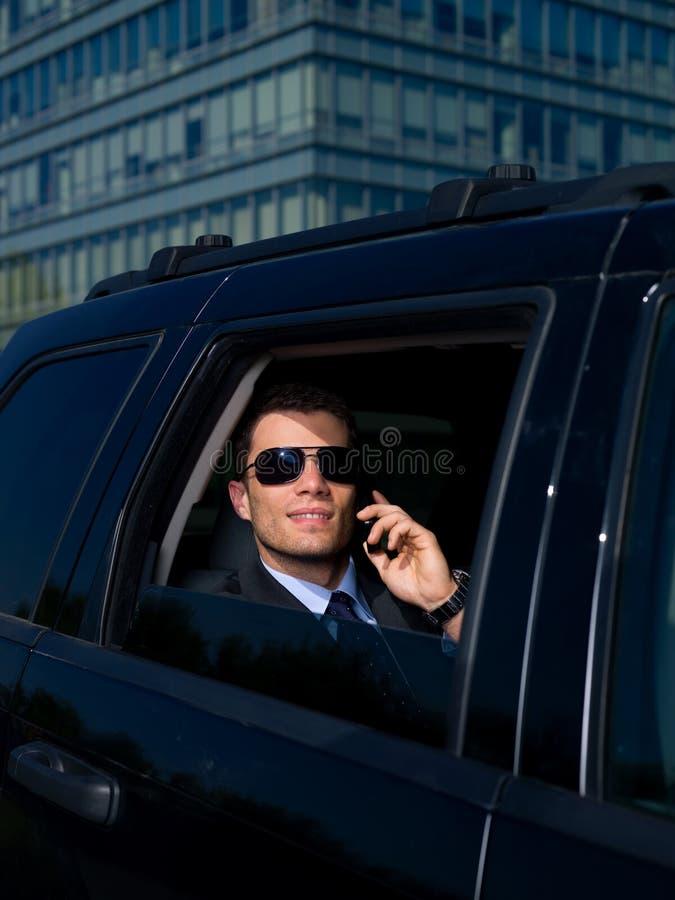 homme d'affaires extérieur photos stock